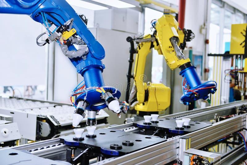 Braço do robô imagem de stock royalty free