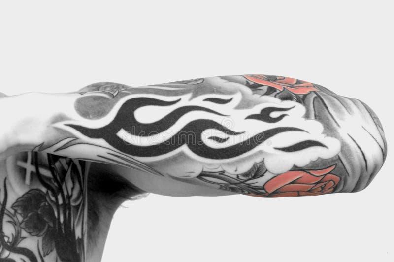 Braço do tatuagem imagem de stock royalty free