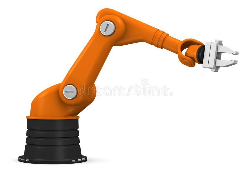 Braço robótico industrial ilustração royalty free