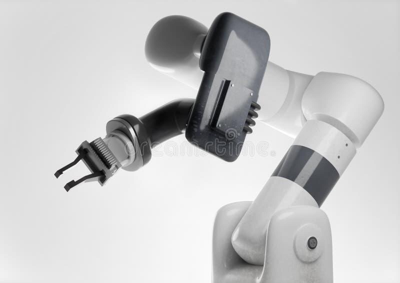 Braço robótico moderno para produtos de fabricação