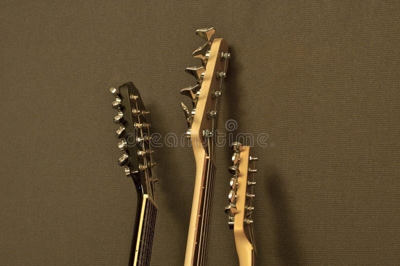 Braços da guitarra foto de stock royalty free