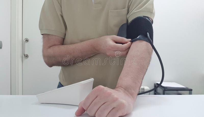 Brać arterialny napięcie zdjęcia stock