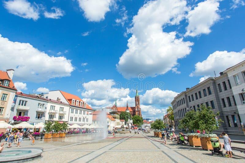 brać 2012 bialystok miasta Lipiec życia rynku fotografii Poland kwadratów brać zdjęcia royalty free