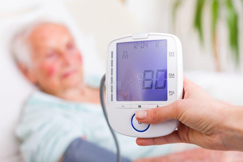 Bra Diastolic blodtryck fotografering för bildbyråer