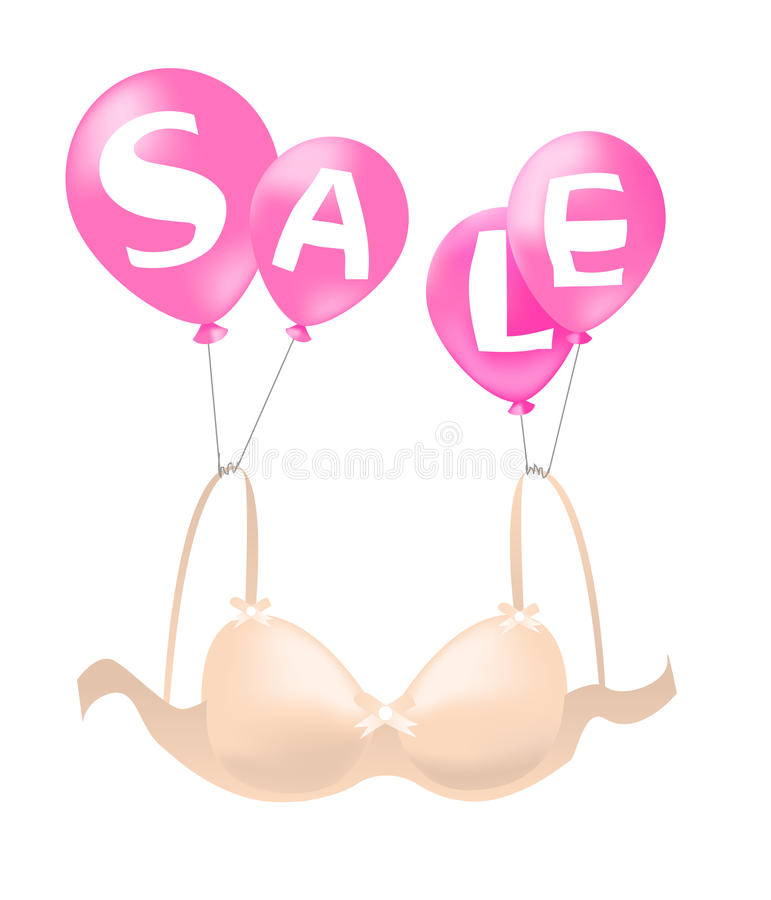 Download Bra On Sales Stock Photography - Image: 14668042