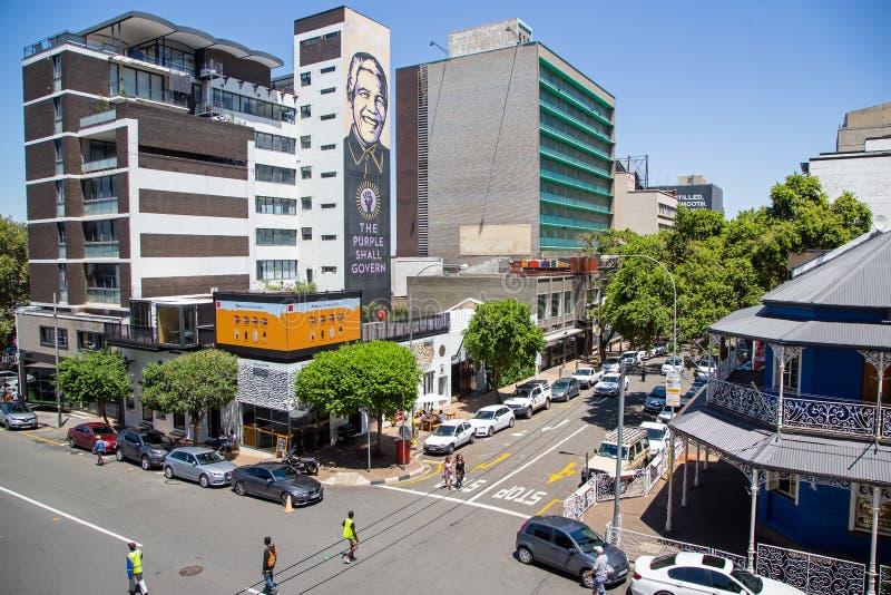 Braamfontien w Johannesburg obrazy stock