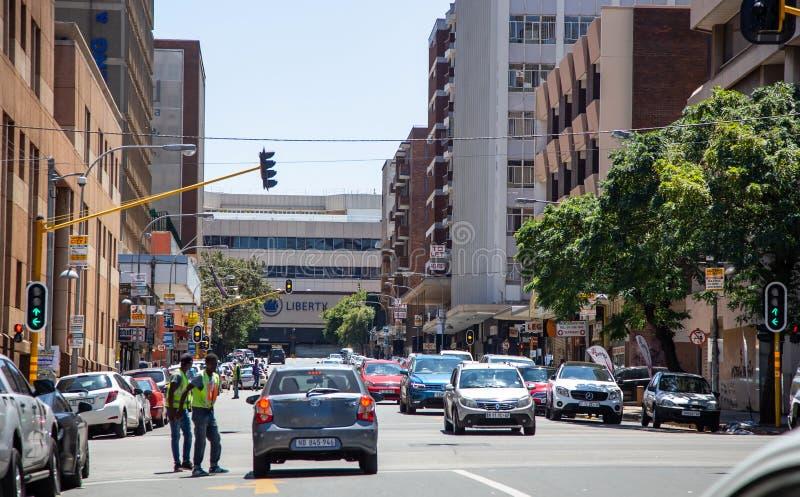 Braamfontien w Johannesburg fotografia royalty free