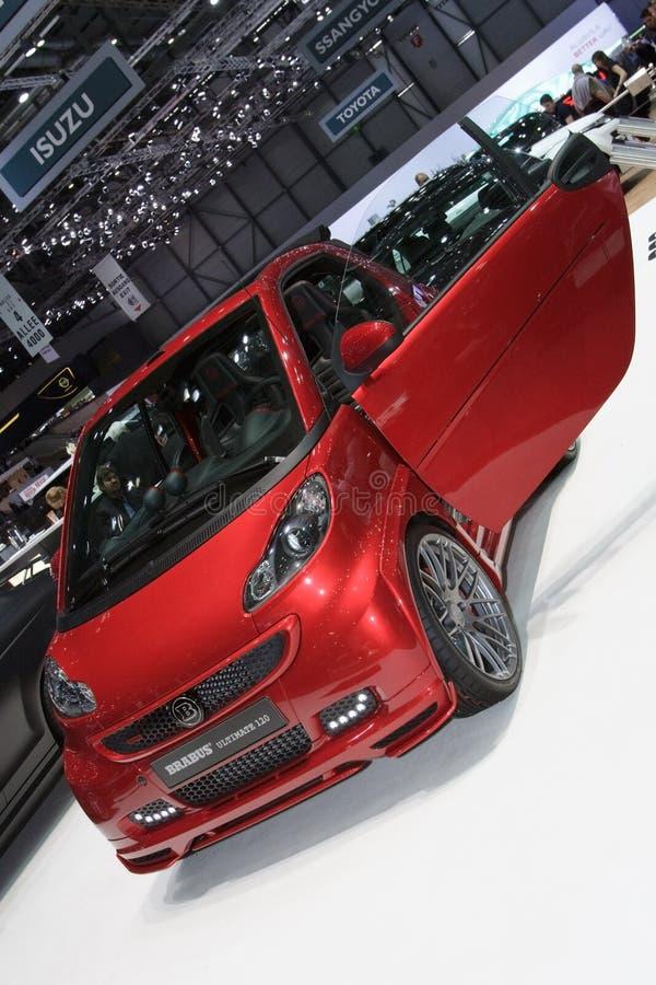 Brabus astuto ultimi 120 - salone dell'automobile di Ginevra 2012 immagine stock libera da diritti
