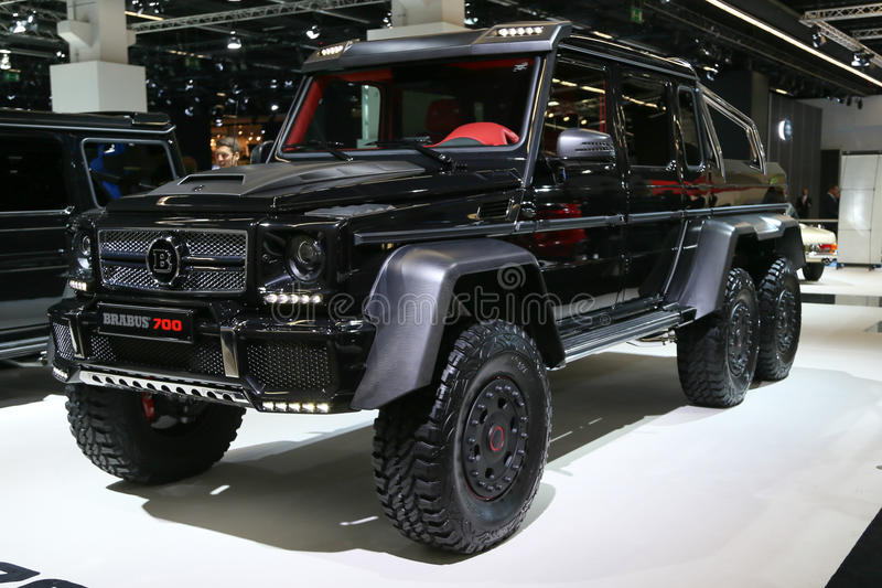 brabus b63s 6x6 mercedes g 63 amg photographie ditorial image 33585497. Black Bedroom Furniture Sets. Home Design Ideas