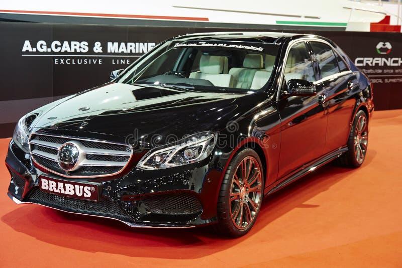 Brabus 850 S63 AMG Coupe 6 (0) Biturbo przedstawiających przy 36 th uderzeniem zdjęcie royalty free