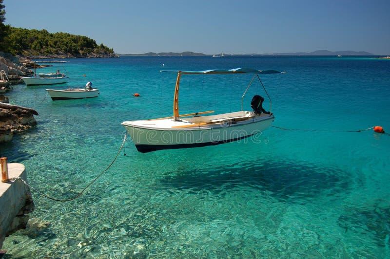 brac克罗地亚海岛 库存照片