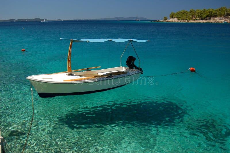 brac克罗地亚海岛 库存图片