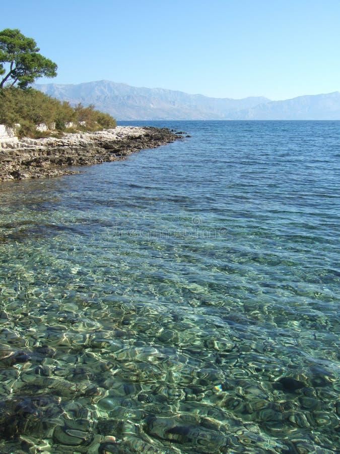 brac Croatia wyspy supetar zdjęcie stock