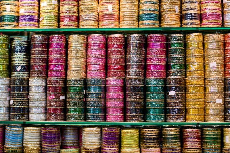 Braccialetti indiani fotografia stock libera da diritti