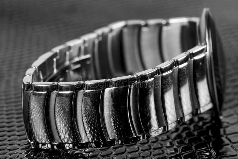 Braccialetto di orologio immagini stock libere da diritti