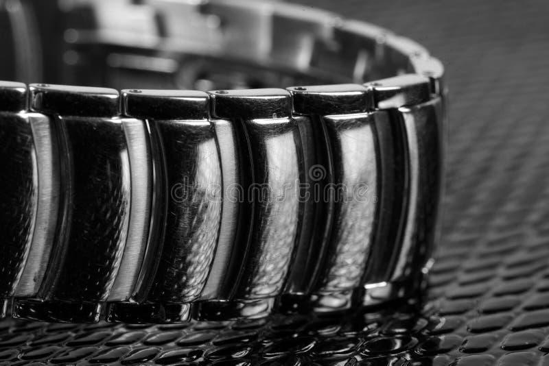 Braccialetto di orologio immagine stock