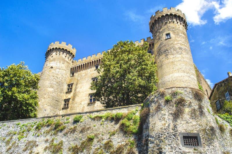 Bracciano slott - Rome - Lazio region - Italien fotografering för bildbyråer