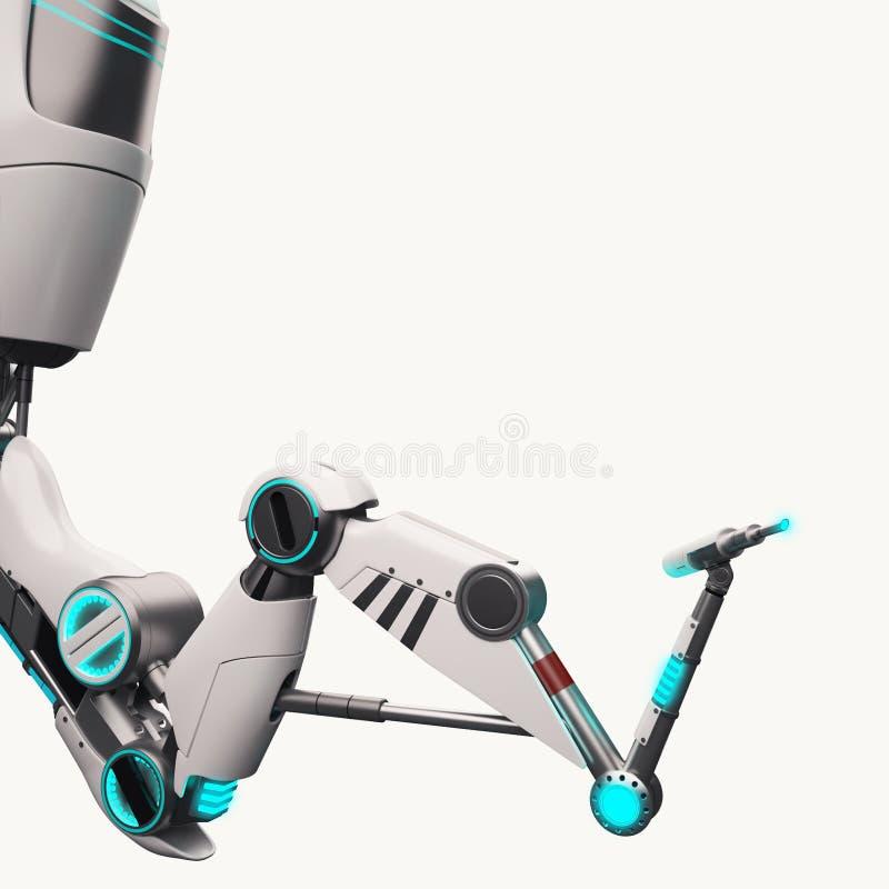Braccio robot di Sci fi fotografie stock libere da diritti