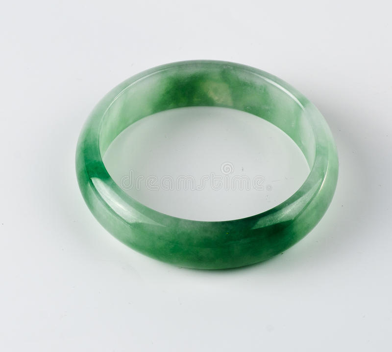 Bracelet. Jada bracelet with green tone royalty free stock images