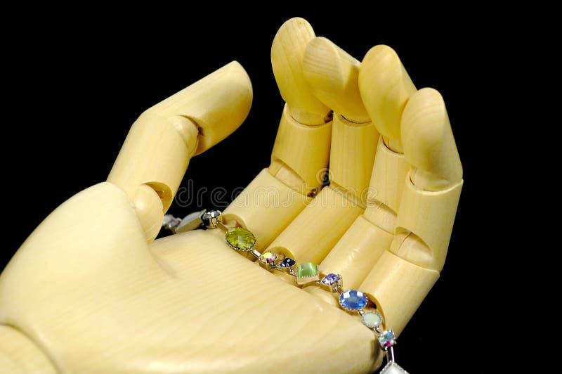 Download Bracelet photo stock. Image du femelle, perles, beauté, étincelle - 64524
