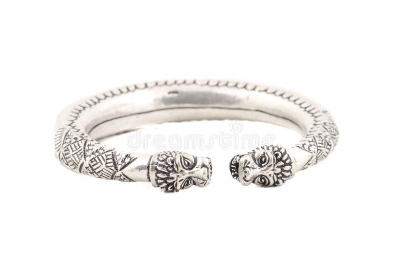 Bracelet argenté images stock