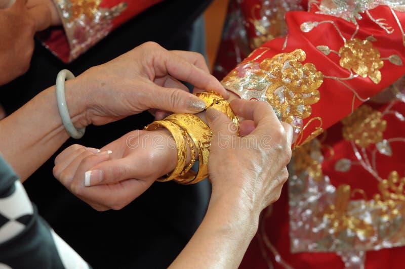 Download Bracelet of bride stock photo. Image of wish, bracelet - 16609824