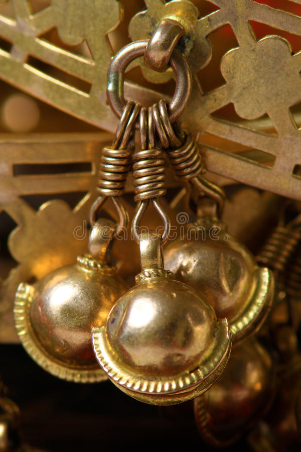 Download Bracelet danglers stock photo. Image of ornament, gold - 28116460