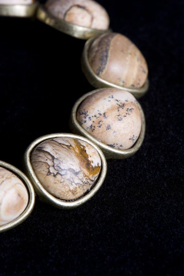 Bracelet de jaspe photographie stock