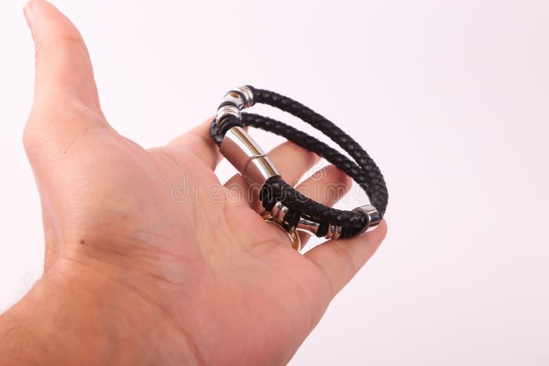 Bracelet de prise de main photographie stock libre de droits
