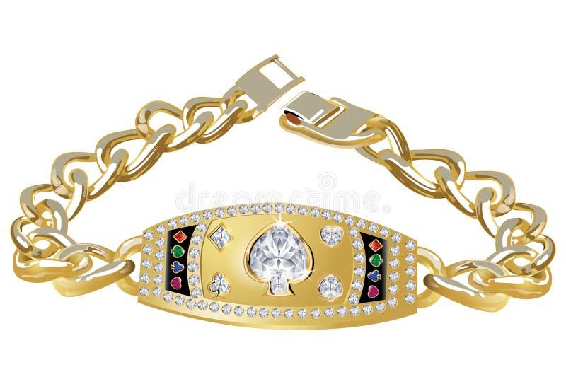 Bracelet de trophée de tisonnier image stock