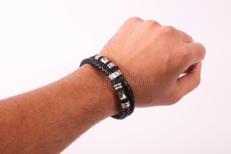 Bracelet en main image stock