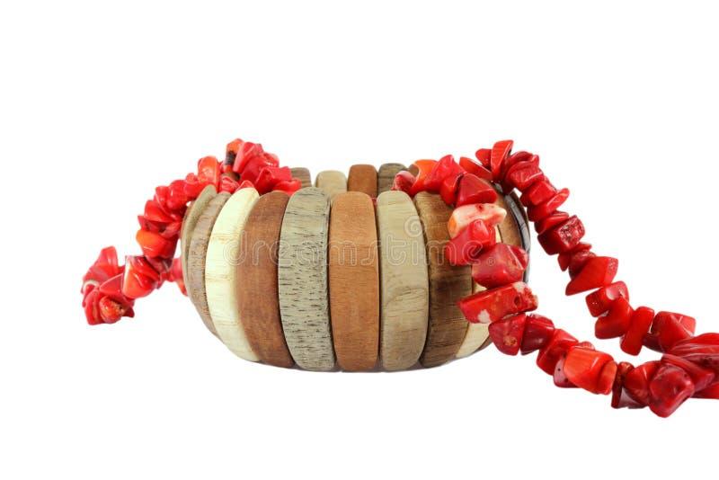 Bracelet et collier de charme photographie stock libre de droits