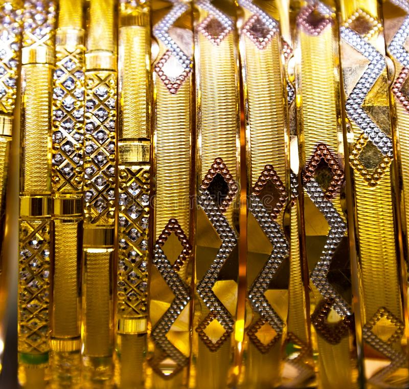 bracelet gold jewelry jewellery ornaments shop royalty free stock photo