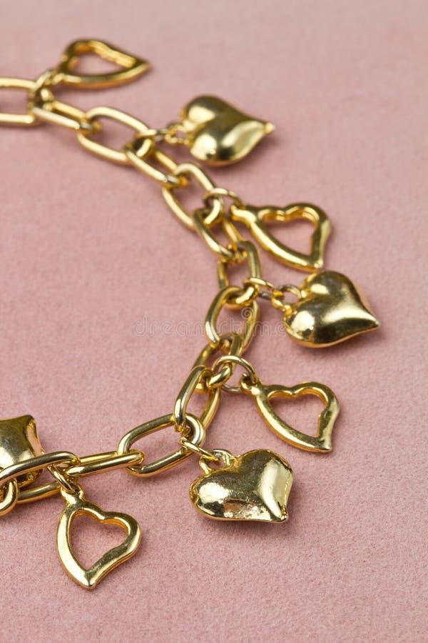 Bracelet in heart shape