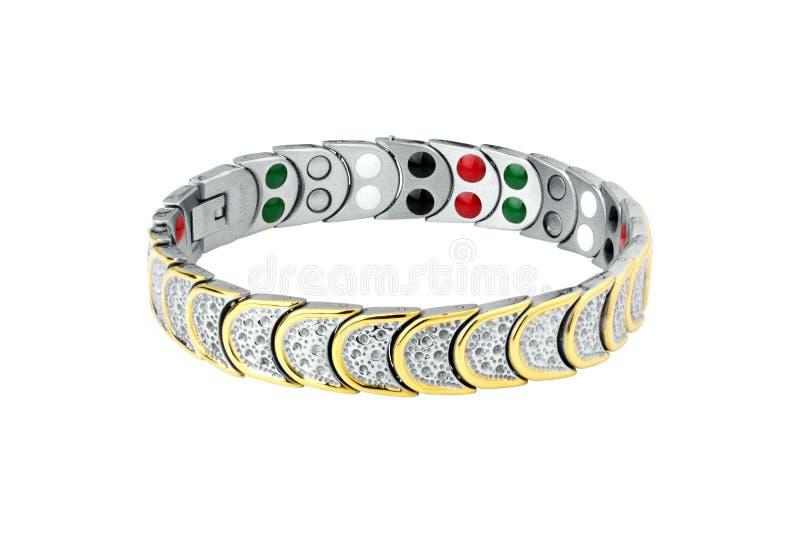 Bracelet magnétique pour la tension artérielle image libre de droits