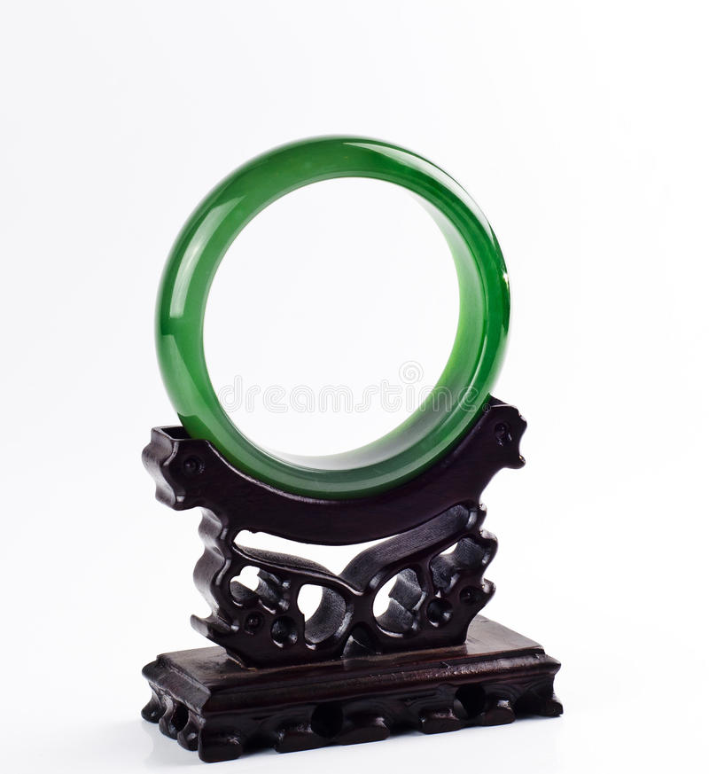 Bracelet picture. Chinese jade bracelet decoration picture royalty free stock photos