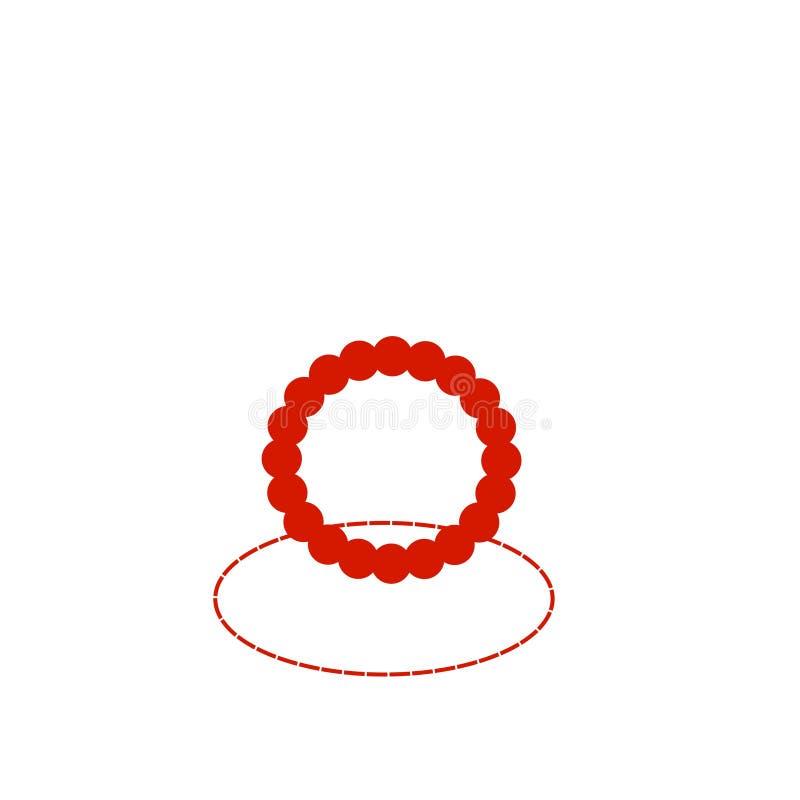 bracelet ilustração stock