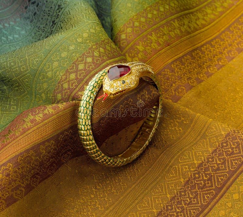 Download Bracelet In Snake Shape Royalty Free Stock Photography - Image: 31279927