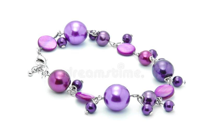 Download Bracelete foto de stock. Imagem de roxo, jóia, bangle - 16870762