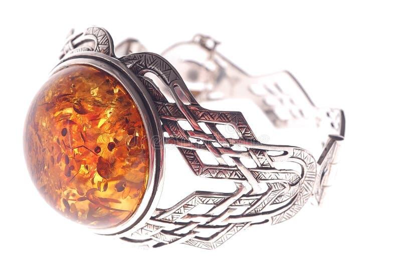 Bracelete ambarino imagem de stock