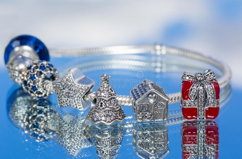 Bracelete da joia fotografia de stock royalty free