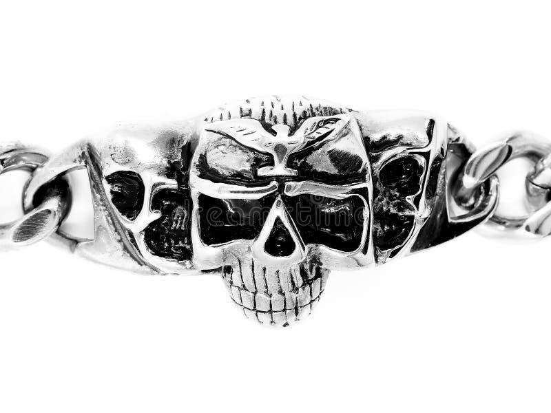 Bracelete da joia bangle Aço inoxidável imagens de stock royalty free
