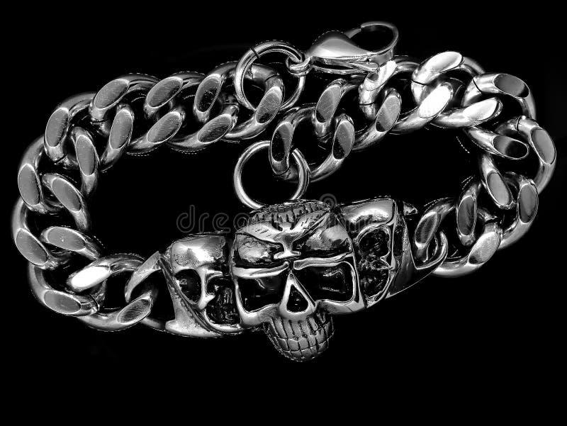 Bracelete da joia bangle Aço inoxidável fotos de stock