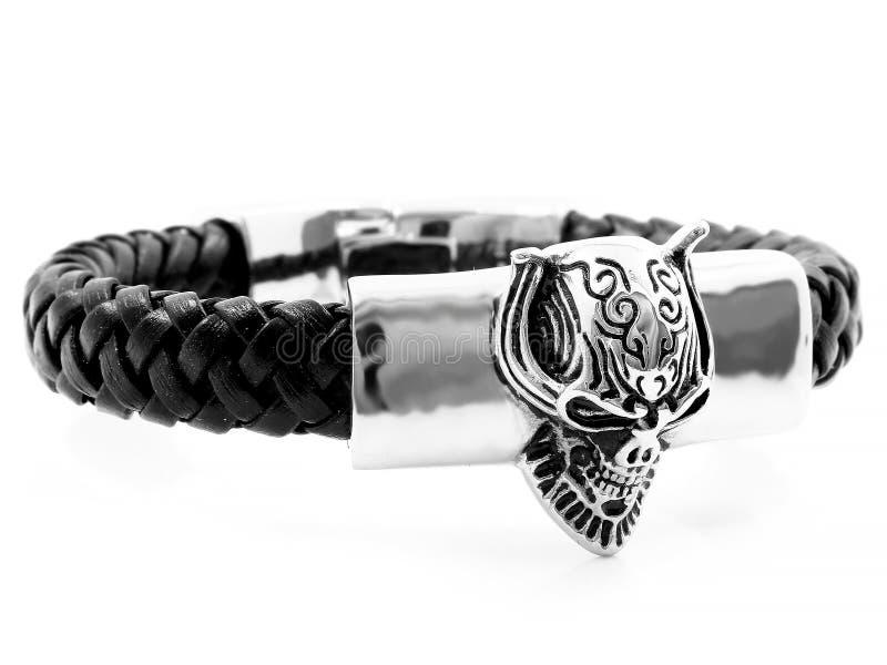 Bracelete da joia bangle Aço inoxidável imagem de stock royalty free