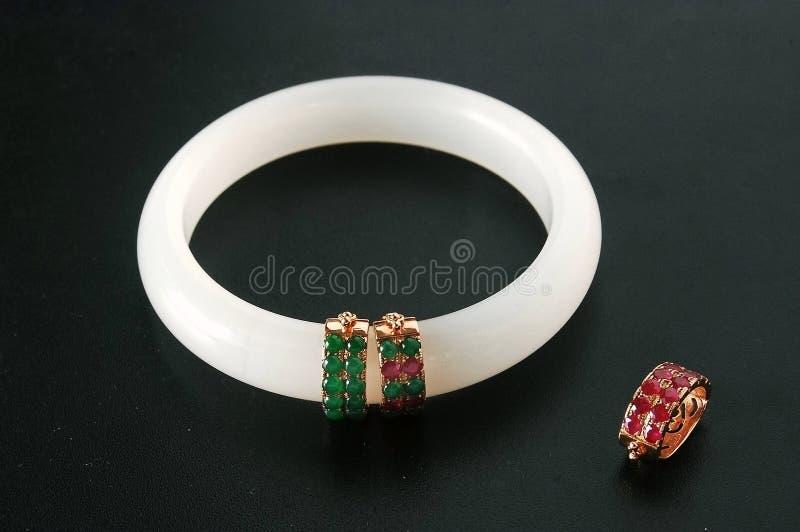 Bracelete de Jada fotografia de stock royalty free