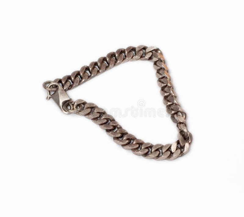 Download Bracelete de prata imagem de stock. Imagem de bracelet - 113115