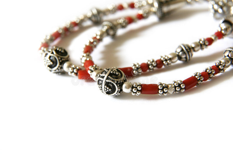Bracelete de prata (Croatia) fotografia de stock