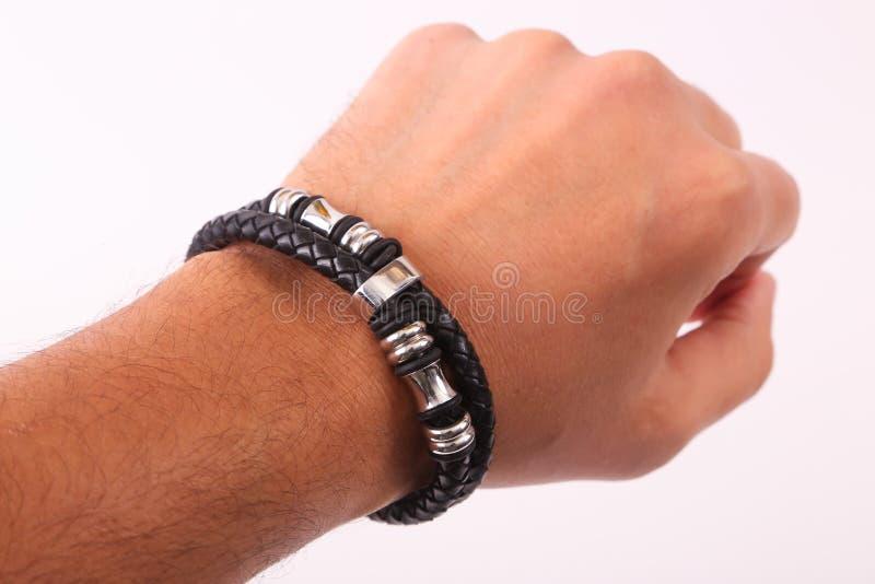 Bracelete do desgaste da mão fotografia de stock royalty free