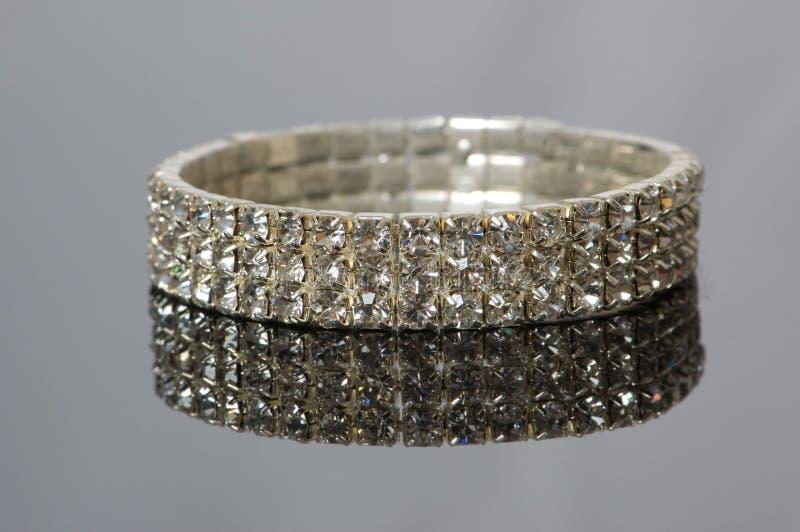 Bracelete do diamante fotos de stock