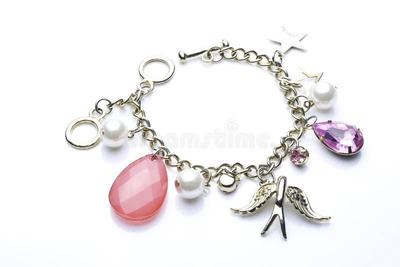 Bracelete do encanto   fotografia de stock